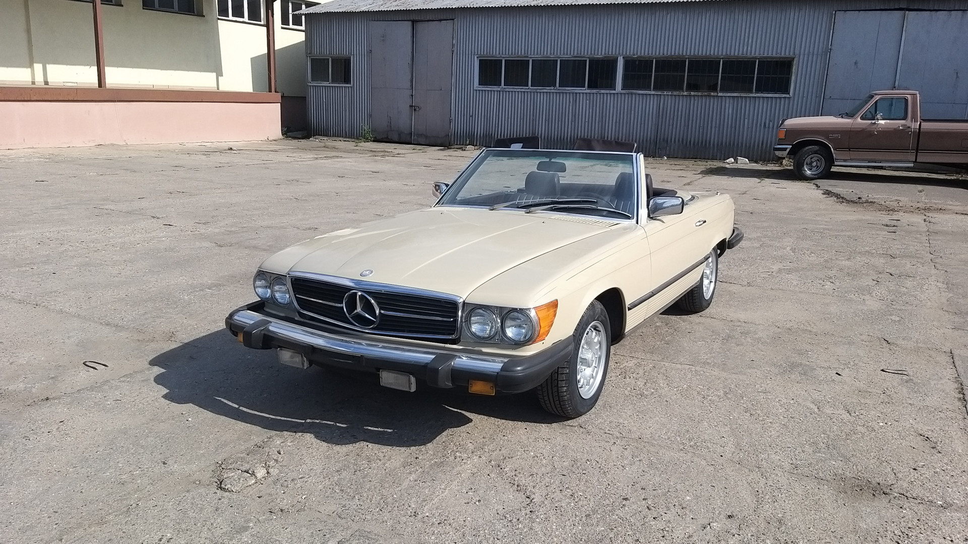 Mercedes-Benz 380SL, 1982, 133.000 mil - MBB Collection