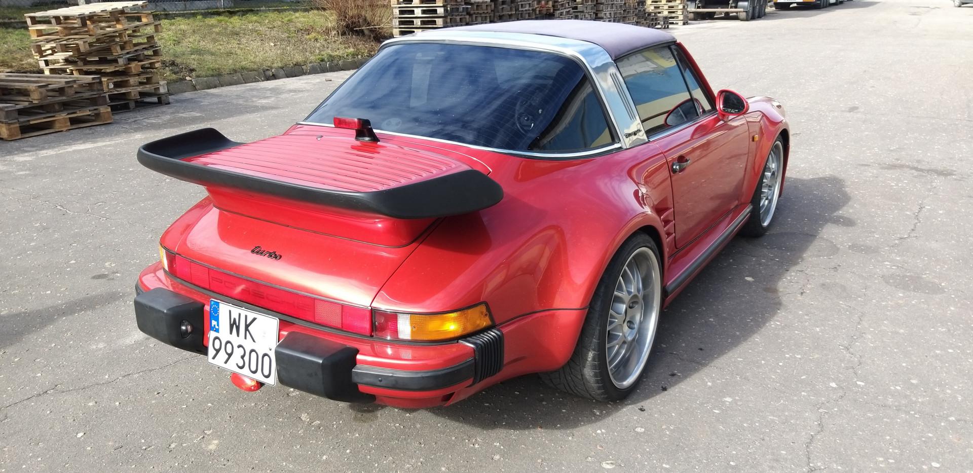 Porsche 911S 1976/77 TARGA 2.7 Turbo Look - MBB Collection