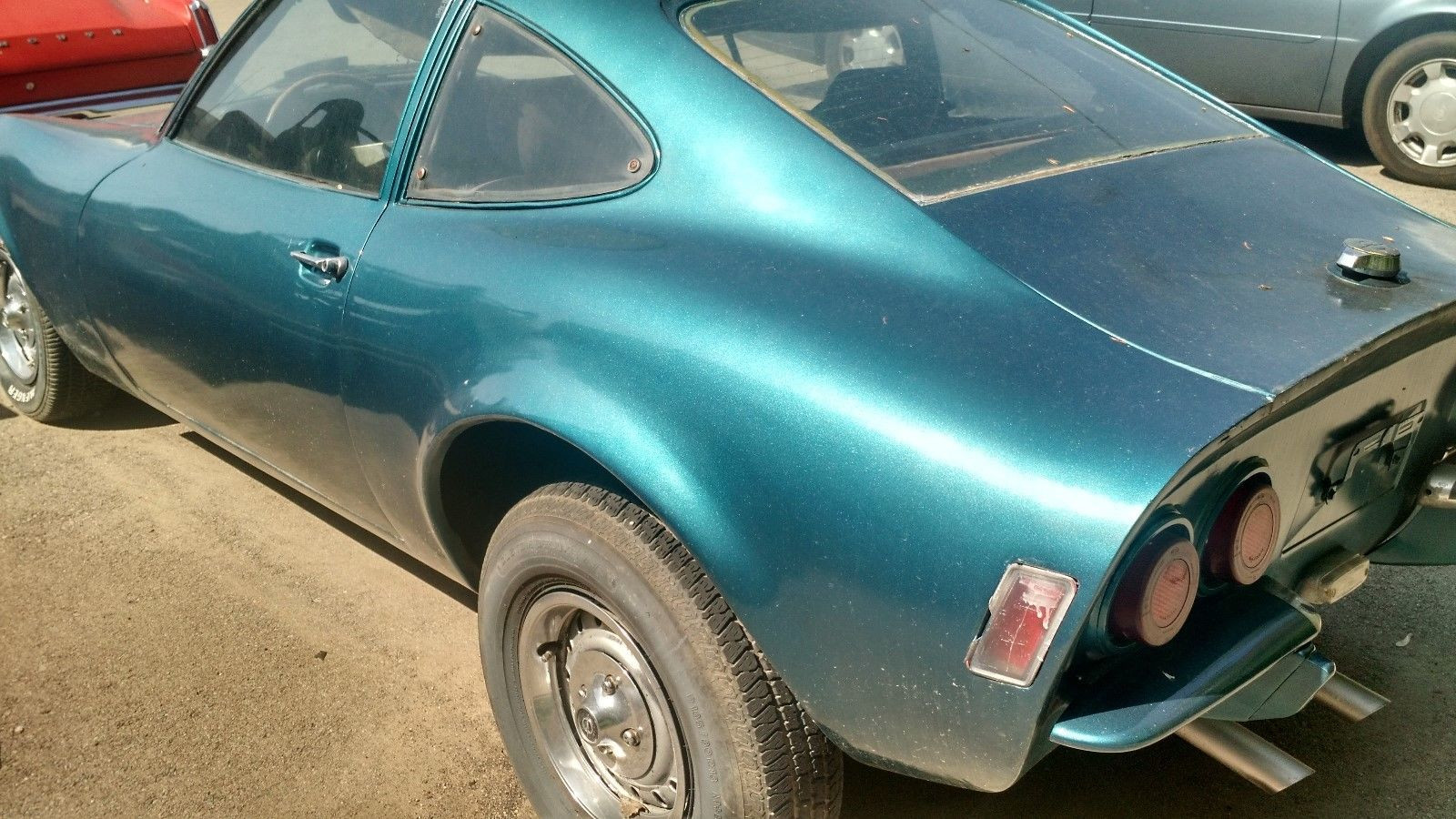 Opel GT 1972 - MBB Collection