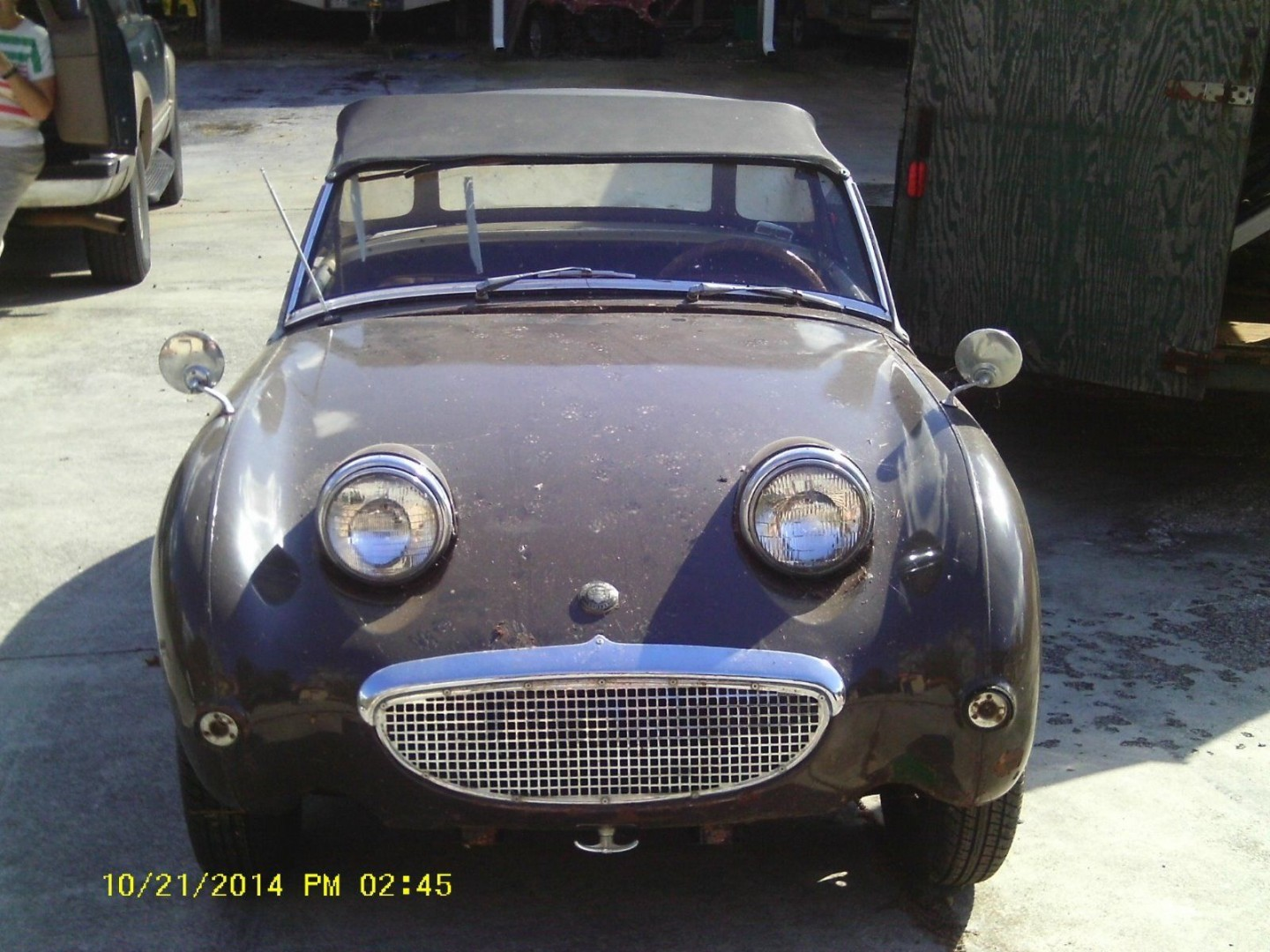 Austin Healey Sprite Frogeye 1961 - MBB Collection