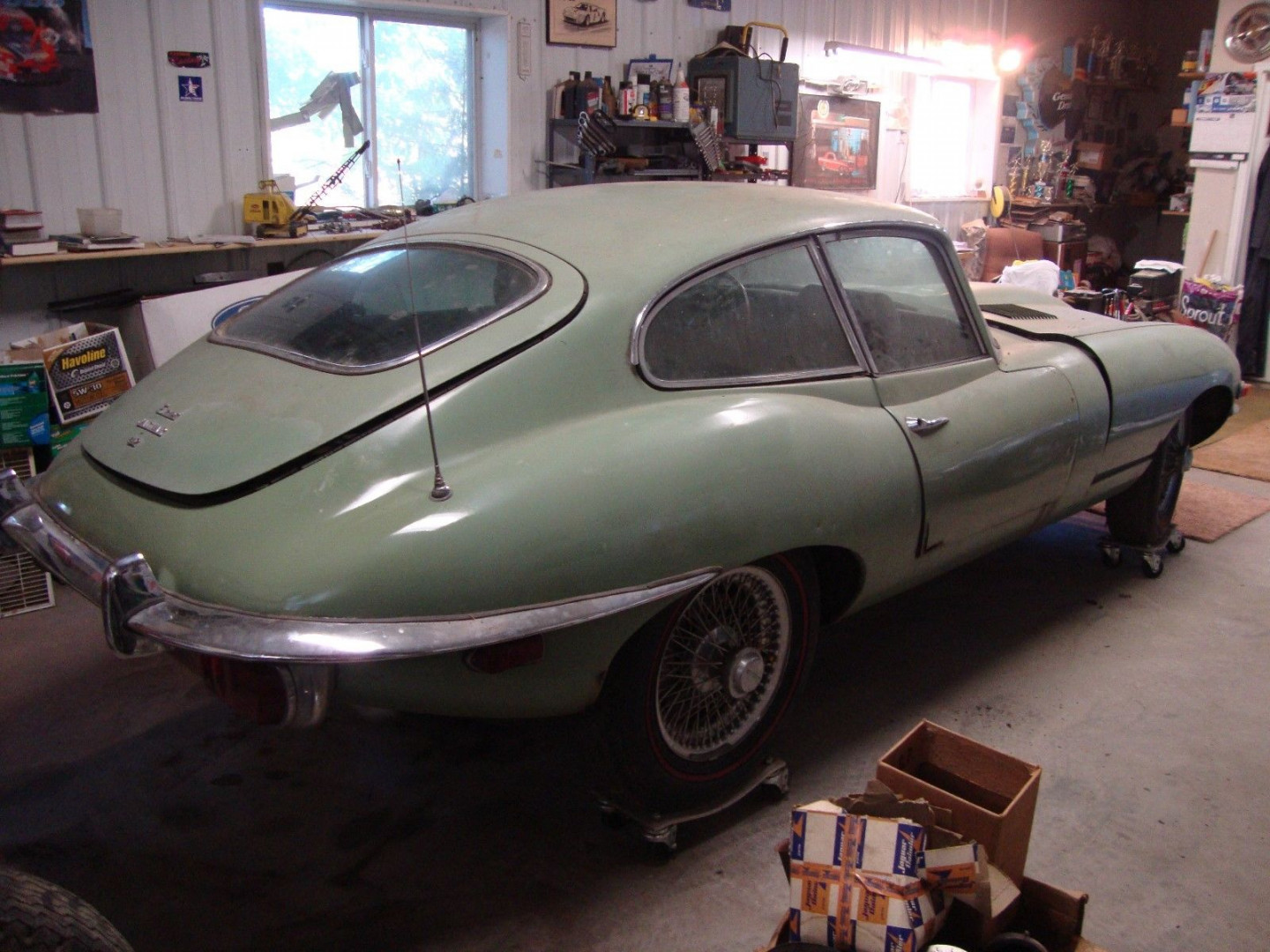 Jaguar E-Type XKE 1969 4.2 mk2 FHC manual VERY RARE !!! - MBB Collection