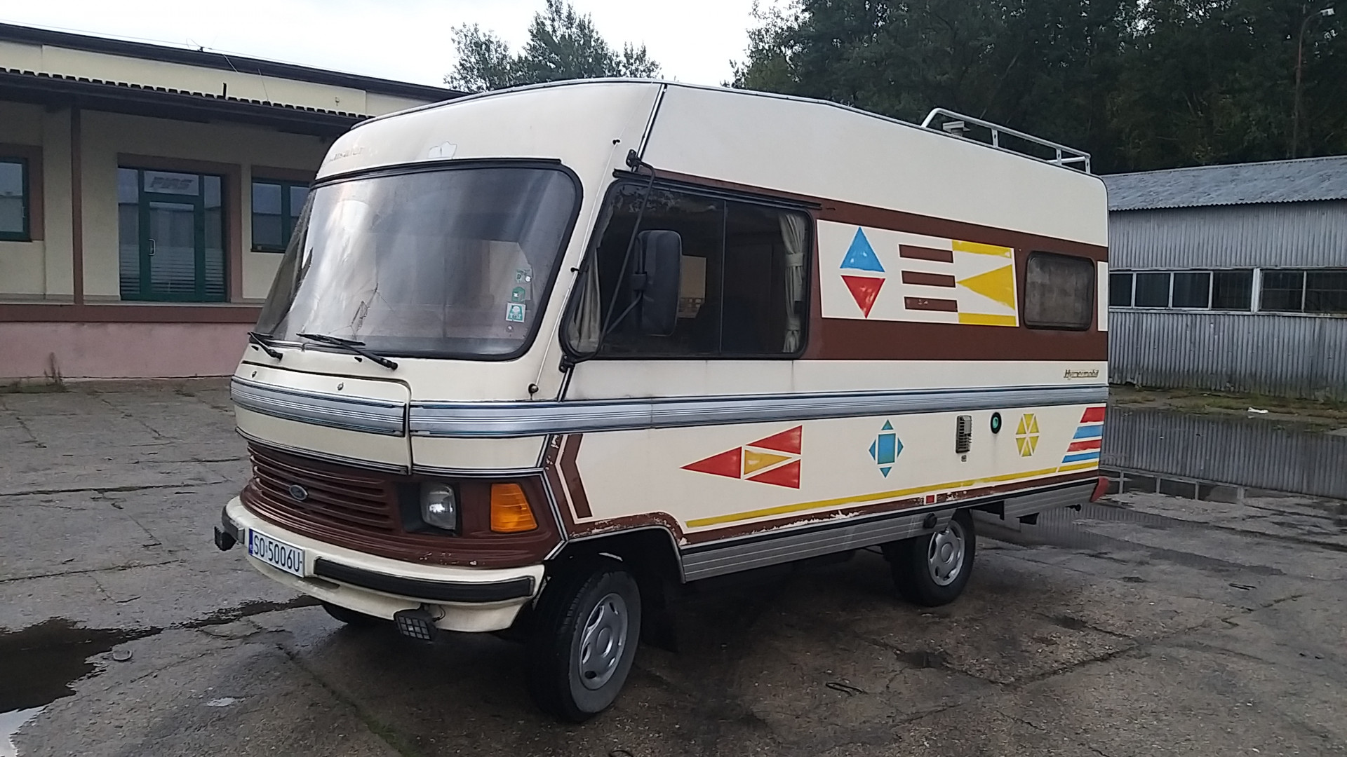 Hymer Ford Transit 1982 Camper - MBB Collection