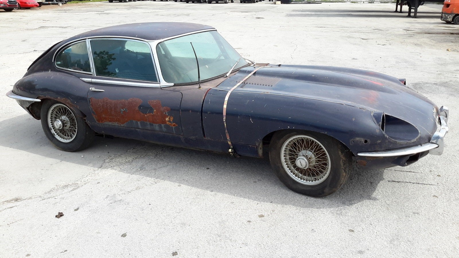 Jaguar XKE 1969 project - MBB Collection