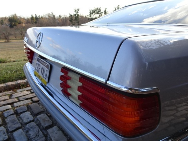 1983 Mercedes-Benz 500 SEC, ONE OWNER, Euro ver. - MBB Collection