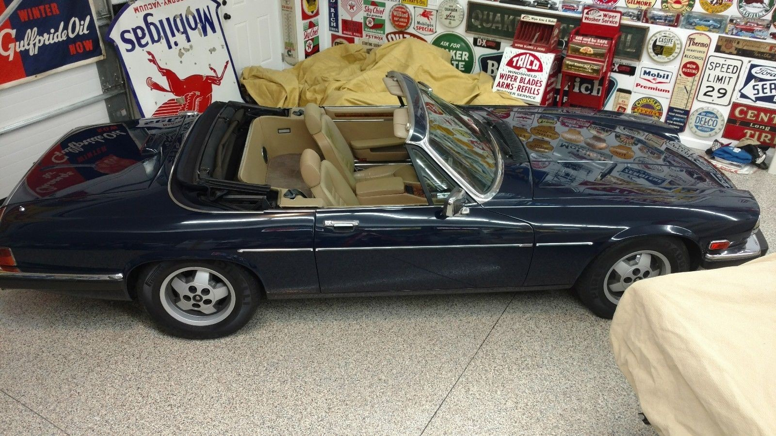 Jaguar XJS, 1987, 50.000 mil on odometer,  LIKE NEW !!! - MBB Collection