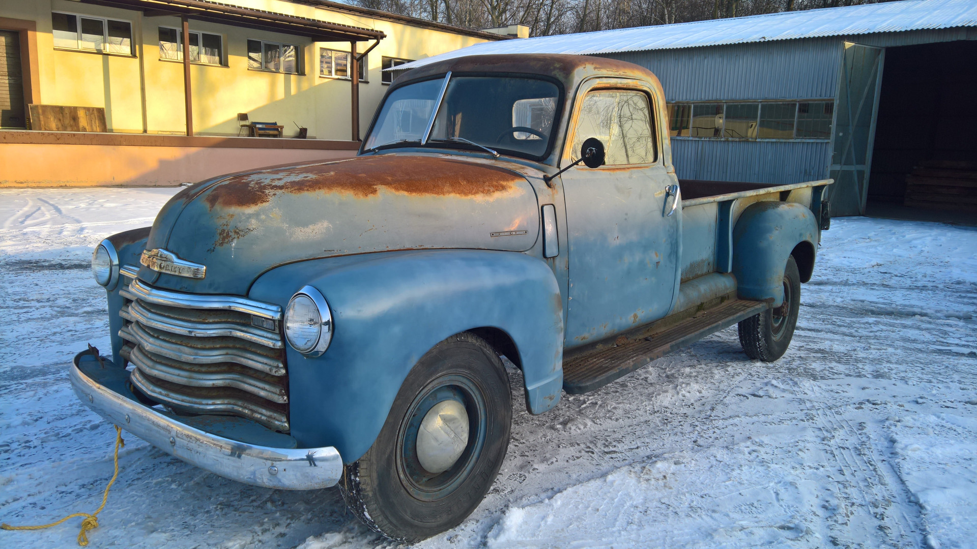 Chevrolet Pickup 1948 projekt - MBB Collection