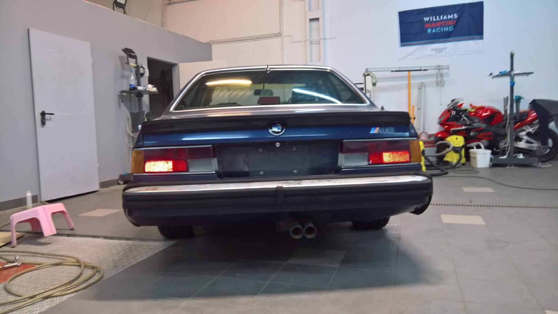 BMW 635CSI e24 M6 No1 - MBB Collection vintage cars